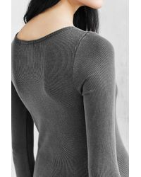 Truly Madly Deeply | Gray Callie Boatneck Top | Lyst
