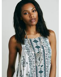 Free People - Blue Into You Slip Dress - Lyst