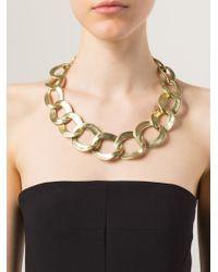 Vaubel | Metallic Chunky Oval Necklace | Lyst