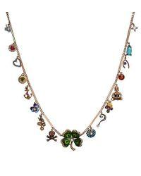 Katherine Wallach - Metallic Good Luck Buddha Necklace - Lyst