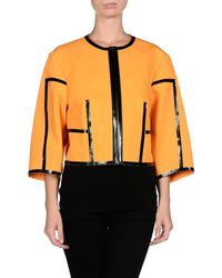 Michael Kors - Orange Blazer - Lyst