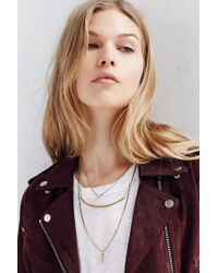 Urban Outfitters | Green Kia Knotted Layering Necklace | Lyst
