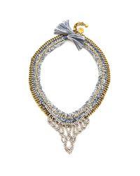 Venessa Arizaga | Green Space Queen Necklace  Cerulean | Lyst