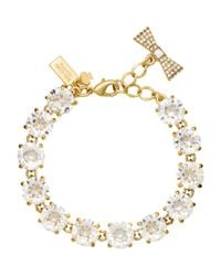 kate spade new york - Metallic Fancy That Bracelet - Lyst