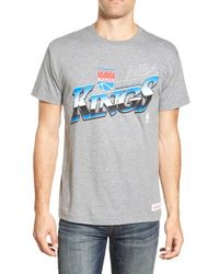 Mitchell & Ness - Gray 'sacramento Kings - Last Second Shot' Graphic T-shirt for Men - Lyst