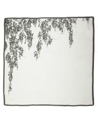 Ann Demeulemeester | Gray Floral Print Scarf | Lyst