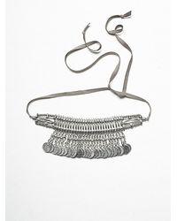 Free People | Metallic Festive Coin Headpiece | Lyst