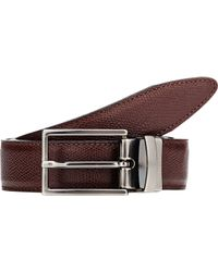Barneys New York - Black Reversible Belt for Men - Lyst