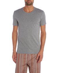 Paul Smith Gray Short Sleeve Cotton T-shirt for men