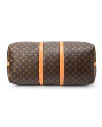 Louis Vuitton - Metallic Monogram Keepall 55 Bandou Travel Bag - Lyst