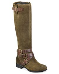 Marc Fisher Green Noreene Tall Boots