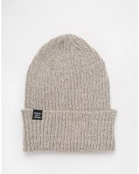 Herschel Supply Co. | Natural Selkirk Beanie for Men | Lyst