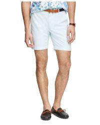 "Brooks Brothers | Blue 9 "" Oxford Shorts for Men 