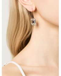 Rebecca - Metallic 'elizabeth' Earring - Lyst