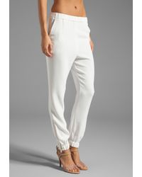 By Malene Birger | Sexy Stretch Cosyh Pant in White | Lyst