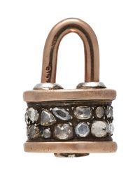 Sevan Biçakci Metallic Handbag Lock Charm
