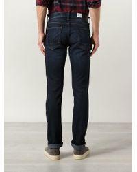 Hudson Jeans - Blue Slim Fit Jeans for Men - Lyst