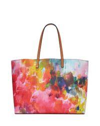 Tory Burch - Multicolor Kerrington Square Tote - Lyst