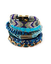 Hipanema | Multicolor 'Peacock' Multi-Strap Bracelet | Lyst