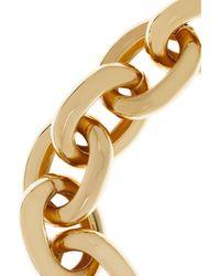 Kenneth Jay Lane - Metallic Goldplated Chain Link Bracelet - Lyst