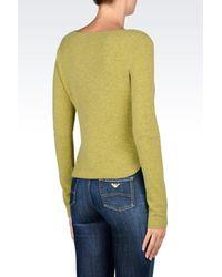 Armani Jeans - Green Crewneck - Lyst