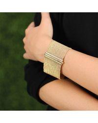 Carolina Bucci - Metallic Woven Silk Melange Bracelet - Lyst