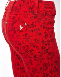 M.i.h Jeans | The Ellsworth Jean In Wild Red | Lyst