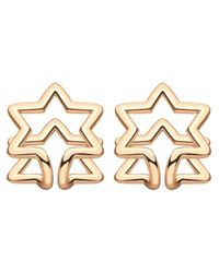 Coops London | Pink Star Squeeze On Earrings | Lyst