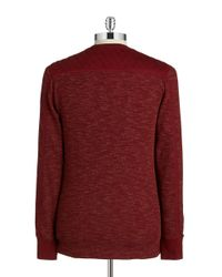Guess | Red Quilted Shoulder Thermal for Men | Lyst
