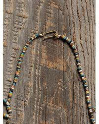 Free People - Blue Womens Vintage Beaded Necklace - Lyst