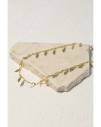 Forever 21 - Metallic Emerald Duv Twinkle Belly Chain - Lyst
