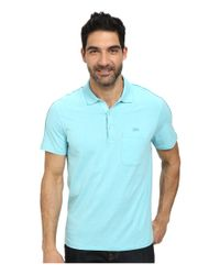 Lacoste | Blue Jersey Heathered Soft Washed Polo for Men | Lyst
