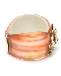 Alexis Bittar Orange Desert Jasmine Asymmetrical Hinged Bracelet You Might Also Like