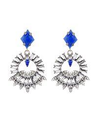 DANNIJO - Blue Avril Earrings - Lyst