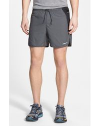 Patagonia - Gray 'strider Pro' Stretch Woven Running Shorts for Men - Lyst