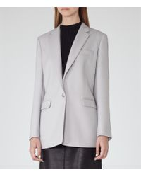 Reiss - Purple Apache Tailored Jacket - Lyst