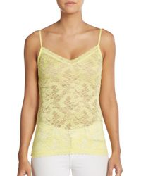Calypso St. Barth | Yellow Lucille Lace Camisole | Lyst