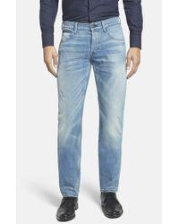 Hudson Jeans | Blue 'blake' Slim Fit Jeans for Men | Lyst