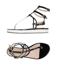 Patrizia Pepe - Black Sandals - Lyst