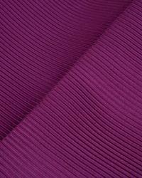 Ted Baker | Purple Ribbed Midi Skirt | Lyst