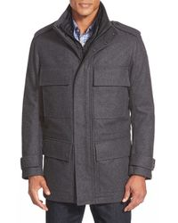 Marc New York Gray By Andrew Marc 'liberty' 3-in-1 Field Jacket for men