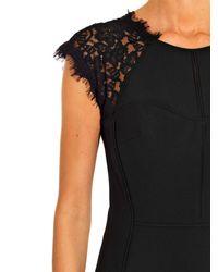 Diane von Furstenberg - Black Maddie Dress - Lyst