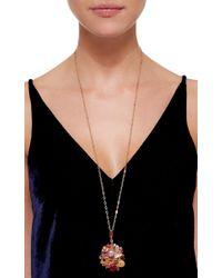 Sharon Khazzam | Multicolor Gold, Mixed Stone, And Diamond Baby Locket | Lyst