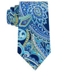 Geoffrey Beene | Green Men's Timeless Paisley Classic Tie for Men | Lyst
