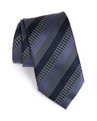 Brioni | Blue Striped Silk Tie for Men | Lyst