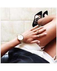 Jenny Bird Metallic Oracle Ring - Size 7