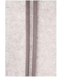 BOSS Orange Gray Coat 'obecki' In New-wool Blend