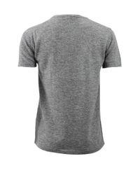 Tomas Maier   Gray Melange Cashmere T-shirt   Lyst