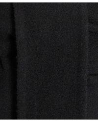 2nd Day Black Draped Wool Shara Jacket