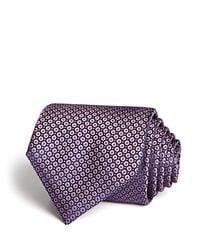 Canali Blue Micro Neat Classic Tie for men
